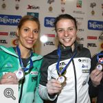 Le podium femmes à Campitello di Fassa<br />© newspower.it