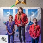 Podium de la coupe des Youth A filles<br/>© M. Timmermans