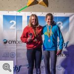 Podium de la coupe des Youth B filles<br/>© M. Timmermans