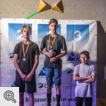 Podium de la coupe des Youth B garçons<br/>© M. Timmermans